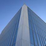 نمای شیشه ای کرتین وال نمایی مدرن و لوکس