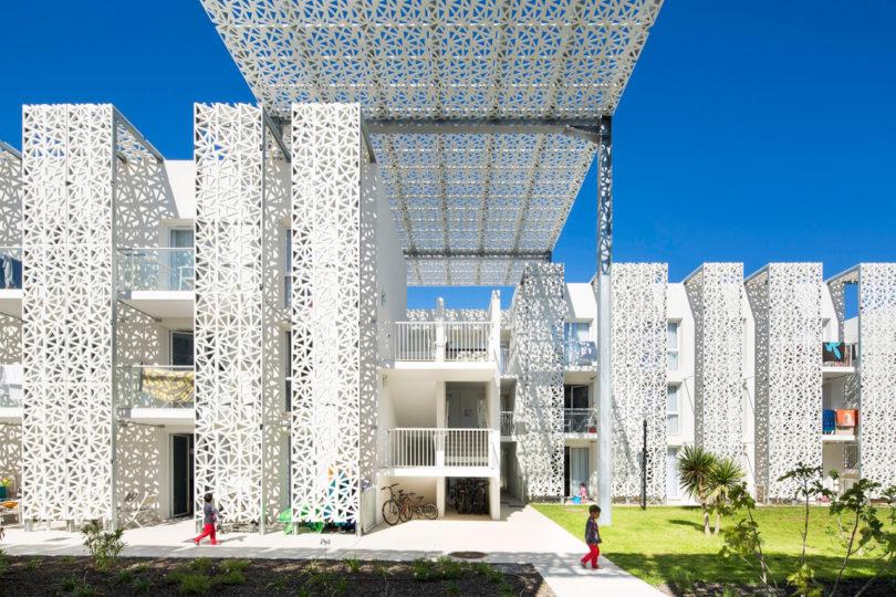 نمای ساختمان | آکاد | نمای مدرن | مجری نما | شرکت آکاد بنا
