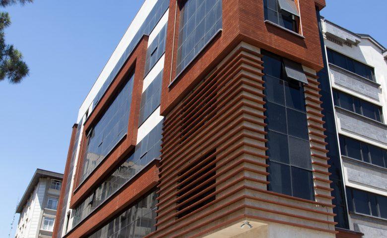 نمای چوبی ترموود ساختمان